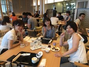 アップルパーク社員旅行_オリオンモトブリゾートで昼食