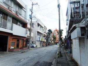 アップルパーク社員旅行_沖縄の街並み