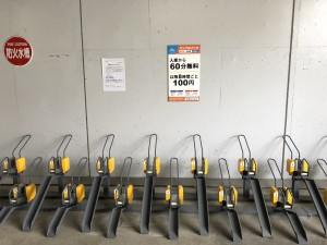 水戸OPA 駐輪場 ラック